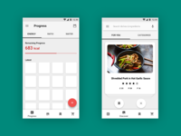 Nutrition Android App