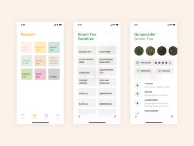 Steeped App - Explore Tea