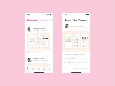 Dribbble App Redesign