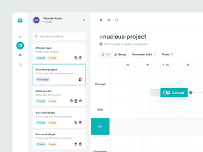 Task Management App task timeline management project management project crm calendar calendar ui web task list app design task management clean flow team widelab figma app ux ui