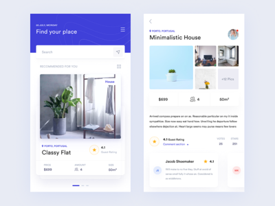 🏨 Booking app blue dailyui figma clean search invitaion travel mobile ux ui app booking