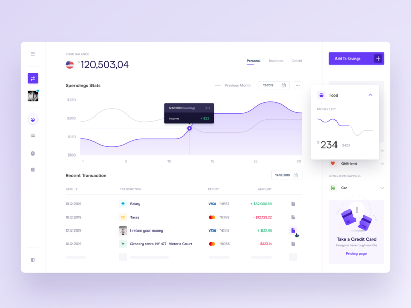 Bank Dashboard table widelab transfer exchange whitespace wallet desktop app dashboard ui chart account money currency dashboad banking bank figma dailyui app ux ui