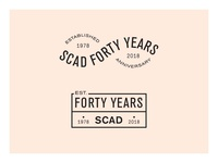 SCAD 40 Years