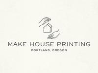 Make House Printing Logo