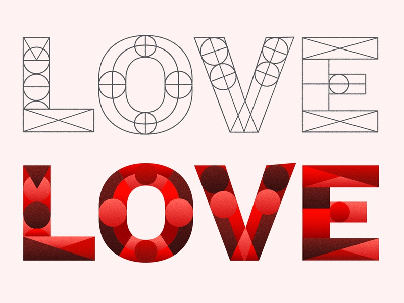 Complexity of Love photoshop print illustrator graphic design typography