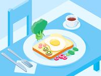Breakfast-2.5D