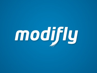 Modifly logo design
