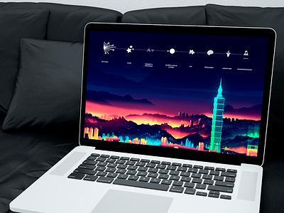 Personal Wallpaper (Macbook Pro) freebie free apple photoshop vector icon wallpaper design illustration