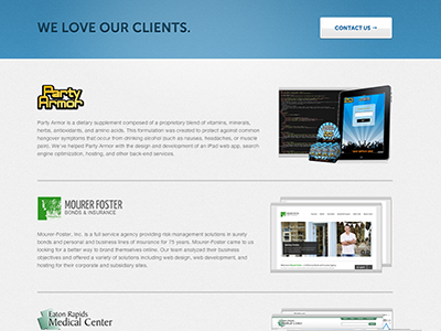Sharpup Clients website design clients