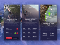 Rock Climbers and Training App