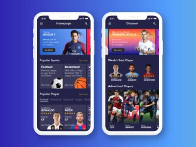 Sports App