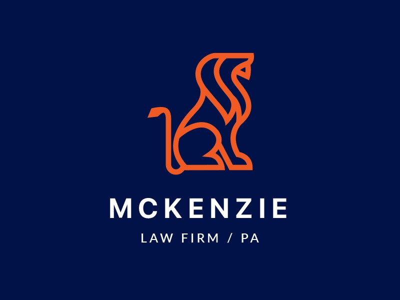 lion law firm logo