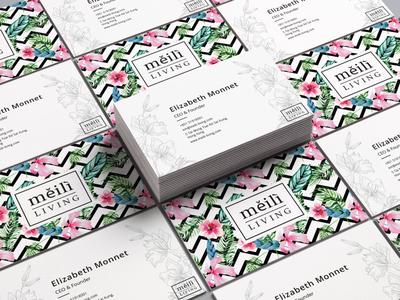 Meili's Business Card Design