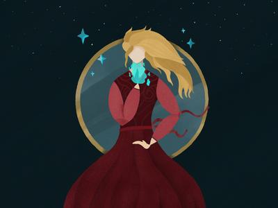 Faceless Sorceress