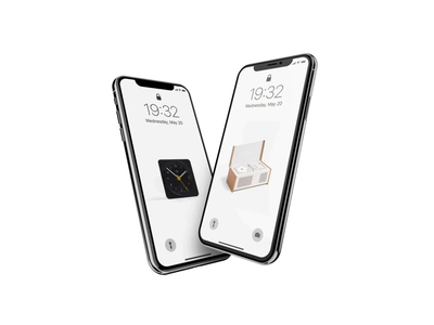 WIP wallpaper animation iphone x iphone dieter rams