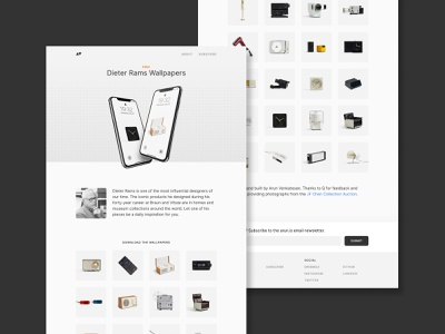 Dieter Rams Wallpapers website wallpaper iphone industrial design dieter rams webdesign