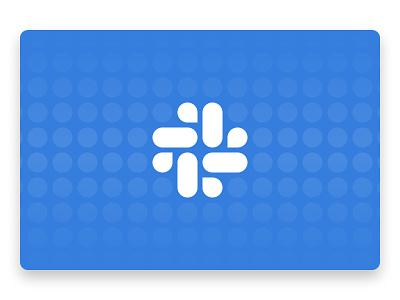 The deep work guide to Slack illustration blue geometric icon slack pattern slack app