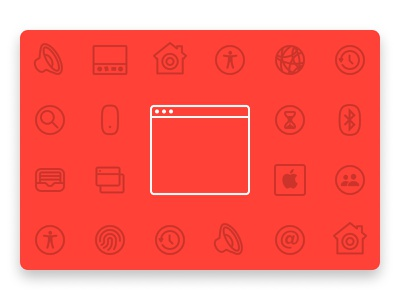 The untold history of macOS System Preferences macosx mac red macos icon system preferences window apple line art icon line illustration macos