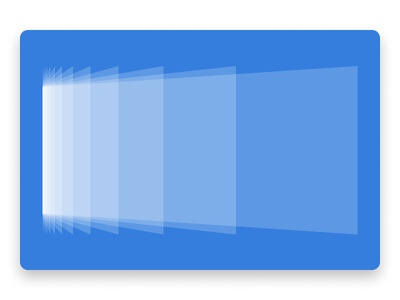 How I sort through a deluge of subscriptions geometric blue white graphic design swiss abstract