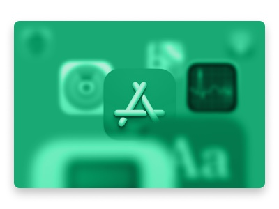 Go-to Mac apps and utilities illustration icons green blur depth of field app icons mac os