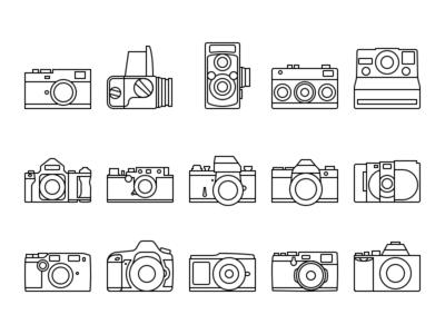 Iconic Cameras - Line