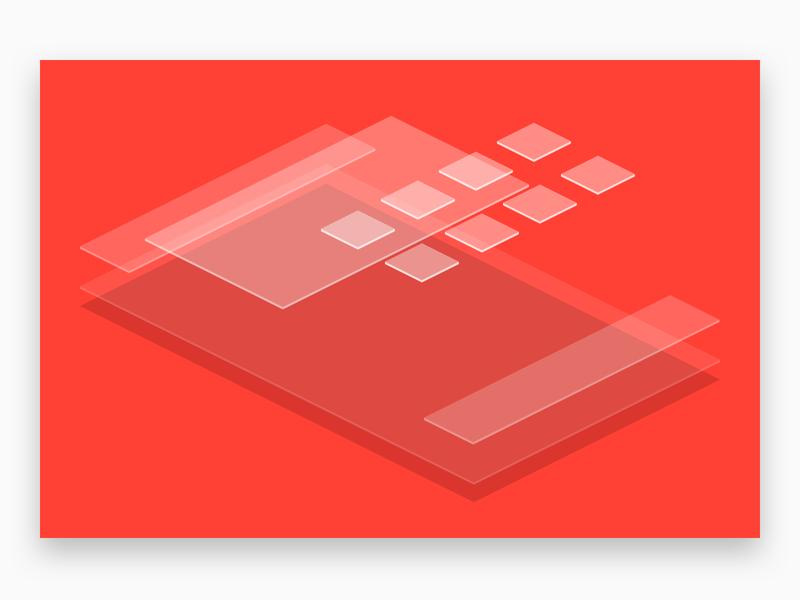 10 Year Challenge: How Popular Websites Have Changed floating isometric illustration web design isometric