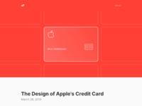 Www.arun.is blog apple card