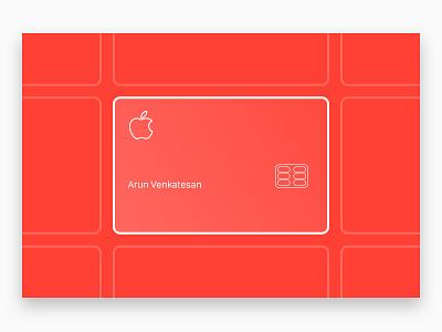 The Design of Apple's Credit Card line art illustration credit card apple