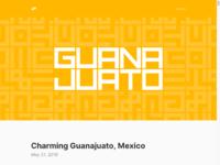Www.arun.is blog guanajuato  dribbble   1