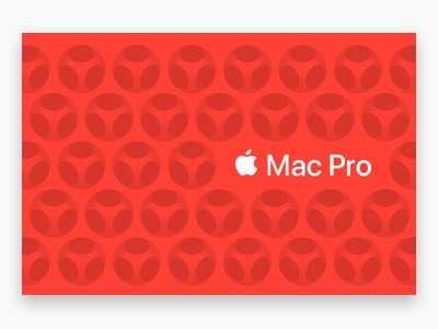 The new Mac Pro is a design remix repeating repeating pattern tesselation hexagon vent mac apple holes pattern mac pro