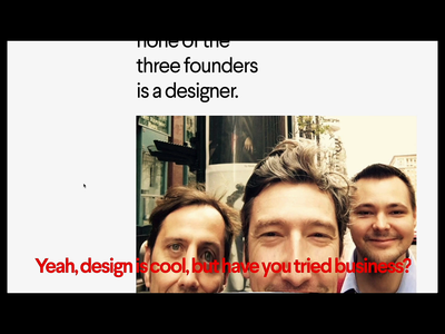 MING website —distortion animations studio minimal brutalism agency corporate animations typography distortion glitch webgl website web