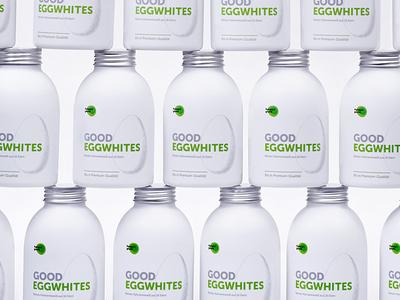 Pumperlgsund Good Eggwhites —Package packaging bottle branding fitness sport egg protein health food liquid