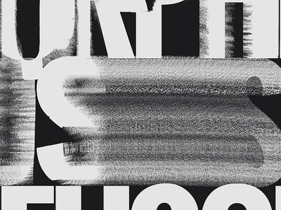 Orpheus 19 dark branding type lettering typography cd music black glitch distortion poster