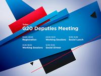G20 timetable
