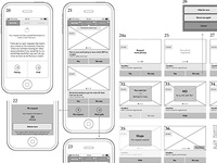 Prototyping a huge social app