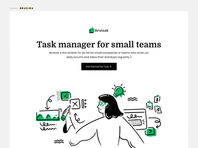 Simplest Task Manager to-do work team office india icon girl ux design illustraion ui tool to do manager task
