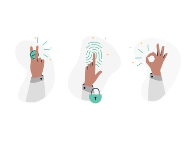 icons set trust sebi commission back graphic illustration investment lock icon security