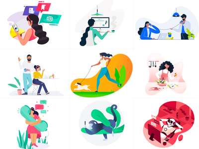 Best of 2018 best9 design illustration new year 2019 new year