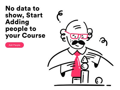 Add people data analysis data minimal boy vector office app web icon ux design ui illustration