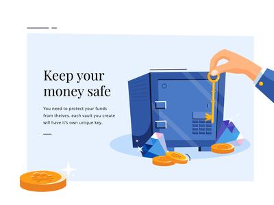 keep your money safe