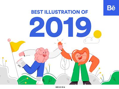 Best illustration of 2019 illustration art illustrator icon design vector line art doodle blog behance product illustration uiux ui illustration behance project brand design brand illustration case study presentation library design systems