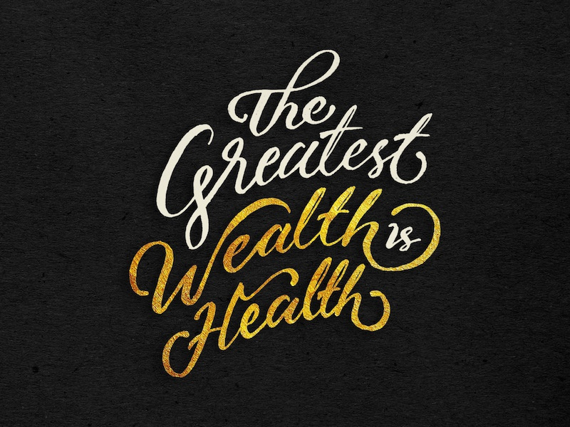 Quotes Healthy Foods Lettering calligraphy typo typography handlettering lettering inspiration logo