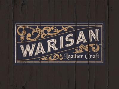 Warisan Hand Crafter inspiration logo