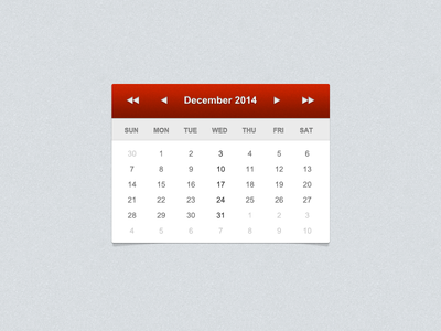 Date Picker ui calendar date picker