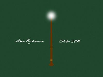 Alan Rickman Tribute sheriff of nottingham alexander dane judge turpin hans gruber severus snape harry potter rickman alan wand