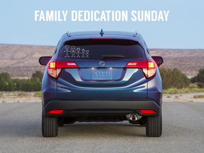 Family Dedication Sunday 2015