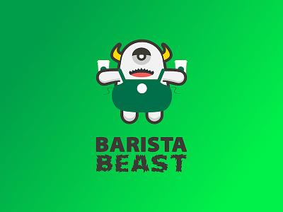 Barista Beast yeti apron cup coffee starbucks beast barista