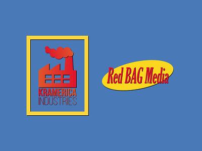 Kramerica Industries identity branding logo company logo kramer cosmo kramer seinfeld kramerica industries