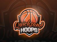 Quicksand Hoops Mascot Logo