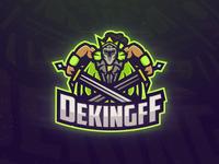 Dekingff Mascot Logo
